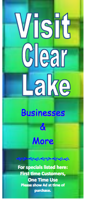 Thumbnail Image For Visit Clear Lake Brochure - Click Here To See