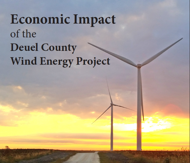 Thumbnail Image For Invenergy's JEDI Model Economic Benefit Analysis 2016 - Click Here To See